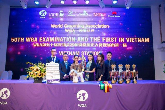 Học Viên Đào Thu Hiền đến từ HCM được đào tạo bởi Kimi Pet dành giải cao trong cuộc thi quốc tế