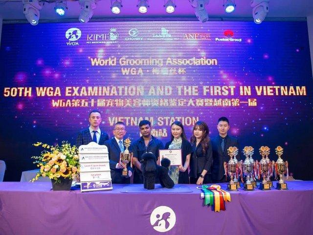 Học Viên Siddhartha Yerva được đạo tạo bởi Kimi Pet dành giải nhất trong cuộc thi quốc tế