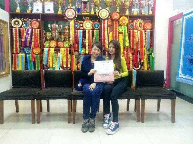 Ms Thùy Linh Nguyễn tốt nghiệp Level C của Master Kang Yi