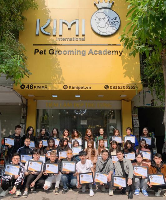 Lễ trao bằng tốt nghiệp tại cơ sở 46 Kim Mã, Hà Nội