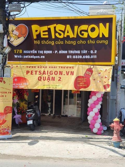 Khai trương cửa hàng phụ kiện thú cưng Petsaigon - Nguồn: petsaigon.vn