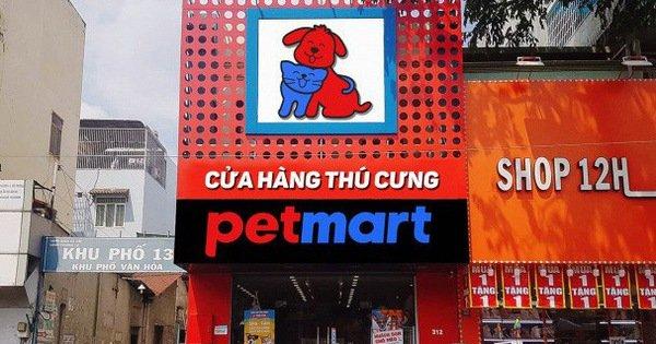 Cửa hàng thú cưng Petmart - Nguồn: petmart.vn